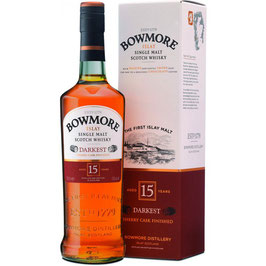 Bowmore 15 Years Old, Darkest, Sherry Casked