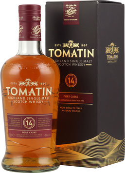 Tomatin 14 Year Old / Port Wood Finish