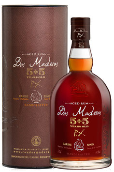 Dos Maderas, Caribbean Double Aged Rum 5+5 Years Old