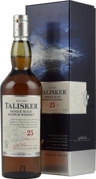 Talisker 25 år  Single Malt Whisky Skye 45,8%