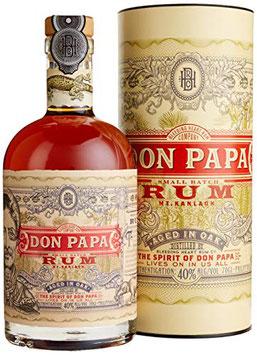 Don Papa Rum - 0,7 Liter 40% med gaveæske