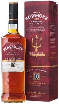Bowmore 10 YO Devils Cut III Islay Single Malt Whisky 56,3%