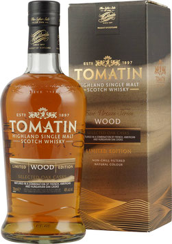 Tomatin Virtues Serie 1. Edition Wood 46.0% 0,7l