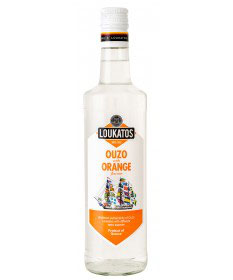 Ouzo Loukatos Orange 43% 0,7L