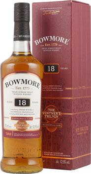Bowmore 18 Jahre Manzanilla Cask (0,70 Liter)
