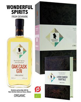 New Danish Fairytale Oak Cask Gin Organic