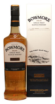 Bowmore Legend Islay Whisky 0,7 Liter 40 % Vol.
