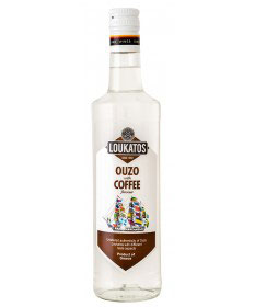 Ouzo Loukatos Coffee 38% 0,7L