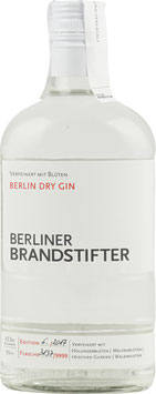 BERLINER BRANDSTIFTER, BERLIN DRY GIN 43,3%