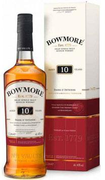 Bowmore 10 Jahre Dark & Intense 1,0 Liter 40 % Vol.