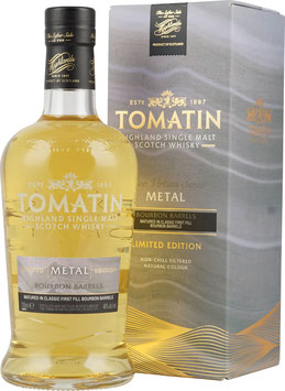 Tomatin Five Virtues Metal Single Malt Scotch Whisky 0,7l