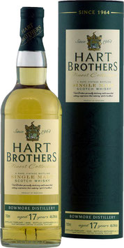 Bowmore 17 YO Hart Brothers 0,7l 46%