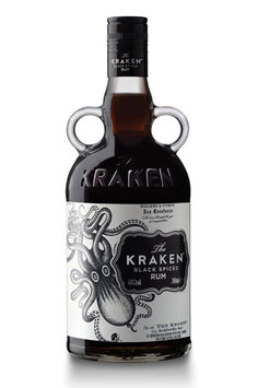 THE KRAKEN BLACK SPICED RUM 0,7L (40% VOL.)