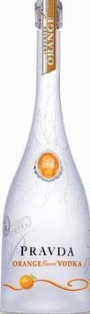 Pravda Orange Vodka 37,5% (1x 0,7l)