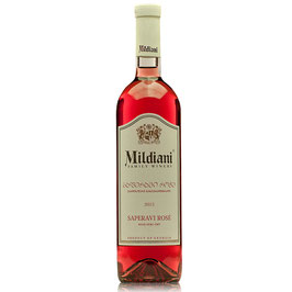 Mildiani - Saperavi HALVTØR ROSÉ