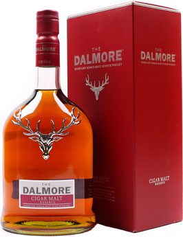 THE DALMORE CIGAR MALT SINGLE MALT SCOTCH WHISKY 0,7 LITER