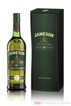JAMESON 18 ÅR LIMITED RESERVE BLENDED IRISH WHISKEY 40%