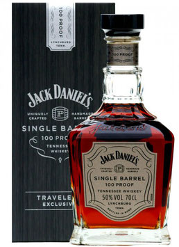 JACK DANIEL'S SINGLE BARREL 100 PROOF TENNESSEE WHISKEY 0,7L (50% VOL.)