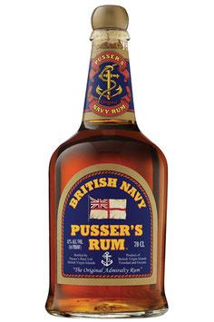 Pussers British Navy Rum 40% 0,7l