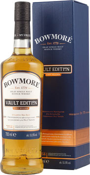 BOWMORE VAULTS EDITION FIRST RELEASE SINGLE ISLAY MALT WHISKY 51,5%