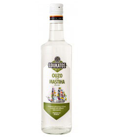 Ouzo Loukatos Mastiha 38% 0,7L