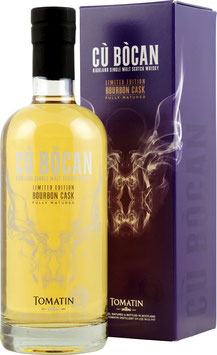 Tomatin Cù Bòcan Bourbon Cask Limited Edition Single Highland Malt Whisky 46%