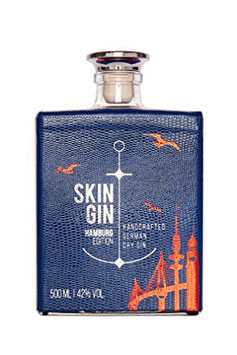 Skin Gin - Edition Hamburg Blue 0,50 Liter - Vol 42%