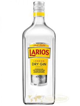 Larios Dry Gin 0,7 Liter (gul Label) 40% Alk.