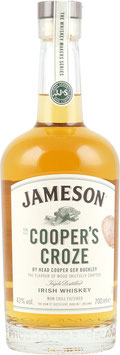 JAMESON COOPERS CROZE BLENDED IRISH WHISKEY 40%