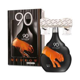 Meukow 90 VS Cognac MED 2 SHOTGLAS