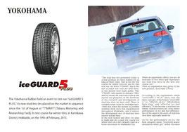 YOKOHAMA TEST DRIVE iceGUARD 5 PLUS