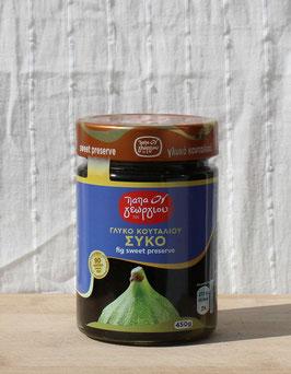 Siko - griechische eingelegte grüne Feigen in Sirup von Papageorgiou, 450g