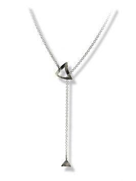 MATERIKA adjustable necklace triangle