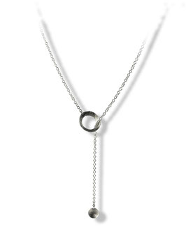 MATERIKA adjustable necklace round