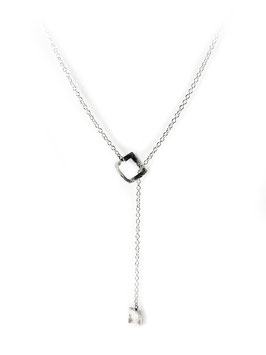 MATERIKA adjustable necklace square