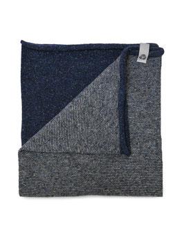 Ganzo Rilana – lana rigenerata: Azzurro/Bianco
