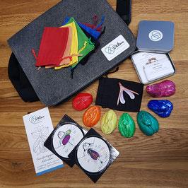 Mobiles Materialpaket SexPäd* in der praktischen Filz-Tragetasche