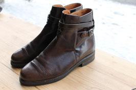 Chelsea boots met riempjes