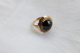 Gouden ring met boerengranaat