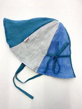 Sonnenhut - petrol - salbeigrün - hellblau (Größe 2)