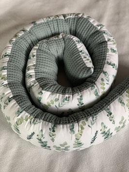 Bettschlange - Eukalyptus / dusty mint