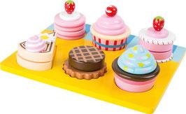 Schneide-Cupcakes und Torten