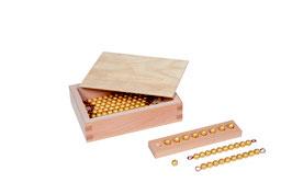 Kasten mit Zehnerstäbchen und Einerperlen - Lose Perlen (1 Satz - Kunststoff)