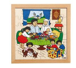 Puzzle Feierlichkeiten, Zuckerfests Format: 28 x 28 cm, jeweils 36 Teile