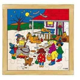 Puzzle Feierlichkeiten, Halloween Format: 28 x 28 cm, jeweils 36 Teile