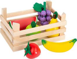 Kaufladen-Gemüse mit Kiste