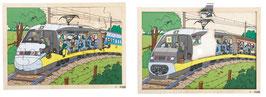 Einblickpuzzle Auf Reisen Zug