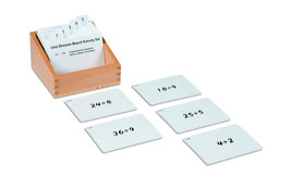 Unit Division Board Activity Set (ENGLISCHE VERSION)