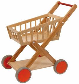 Holzeinkaufswagen