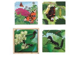 Wachstumspuzzle, Schmetterling 86 Teilig